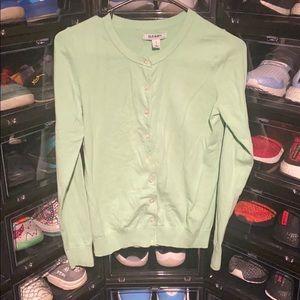 Mint Green Button Down Long Sleeve